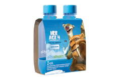 0039365 - Lot de 2 bouteilles ice age 4 diego-sid