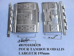 24022 - Kit portillon tambour odalis whirlpool