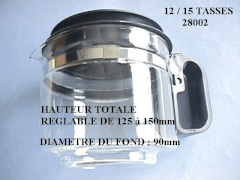 28002 - Verseuse universelle 12/15 tasses