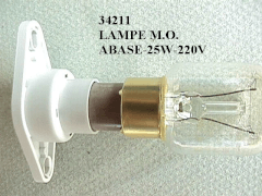 34211 - Lampe micro ondes abase 25 w 230 v