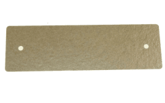 480120100672 - PLAQUE MICA GUIDE ONDES 130 X 40 MM