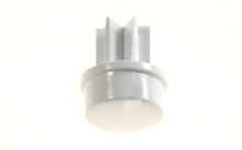 COUVRE BOUTON BLANC