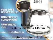 Verseuse universelle